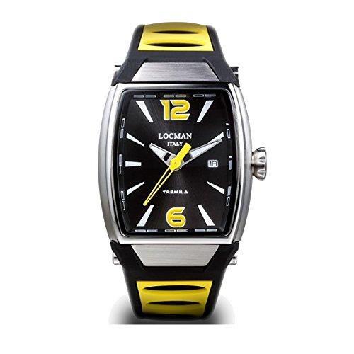 Reloj hombre Tremila Amarillo de acero y titanio Locman