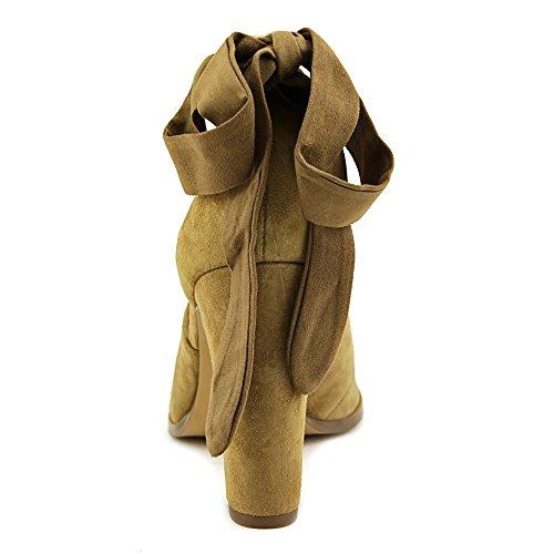 Nina Serena Femmes Daim Talons Camel
