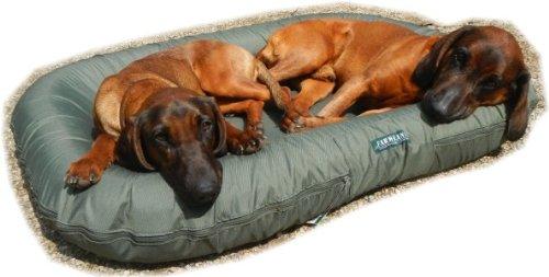Luxus Hundebett oval