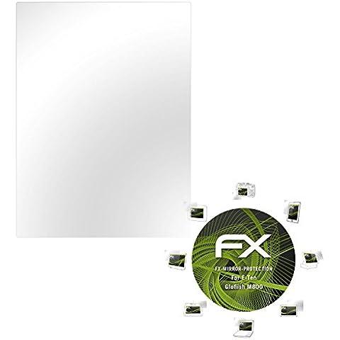 atFoliX Protettore Schermo E-Ten Glofiish M800 Pellicola a specchio -