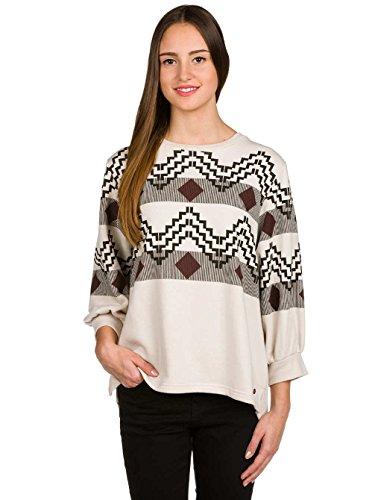 Volcom Get In Line Sweat-Shirt Femme Sparrow