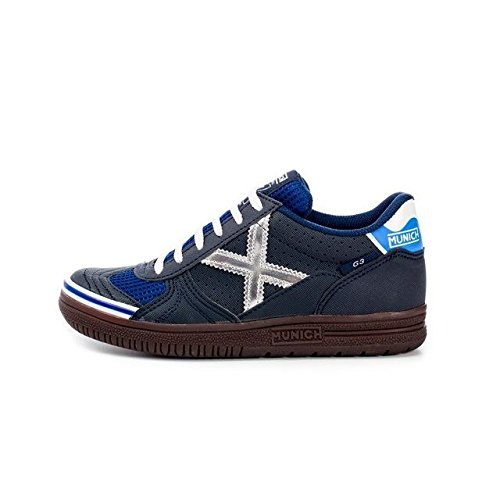 Munich - sneakers  da unisex adulto, (marino/plata), 41