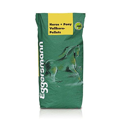 Naturbelassenes, schmackhaftes Futter, Pferde mit keiner oder wenig Leistung, Eggersmann Horse und Pony Vollkorn Pellets 10 mm für Pferde, 1-er Pack (1 x 25 kg)