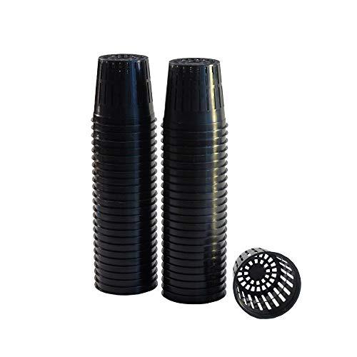 xGarden Netz-Topfbecher für Hydrokultur und Aquaponik, dünn, mit Geschlitzten Seiten