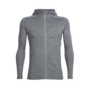 41a1G5%2B%2BqyL. SS300  - Icebreaker Men's Quantum Long Sleeve Zip Hood Cover Ups