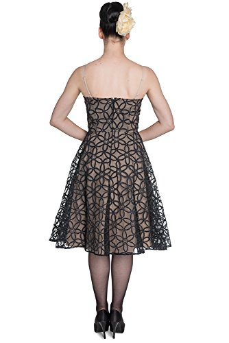 Hell Bunny Kleid BEV 50'S DRESS 4391 Black