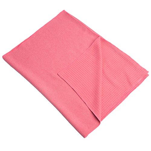 Ultrasport Telo antiscivolo per materassino da ginnastica/yoga, 180 x 60cm, rosa