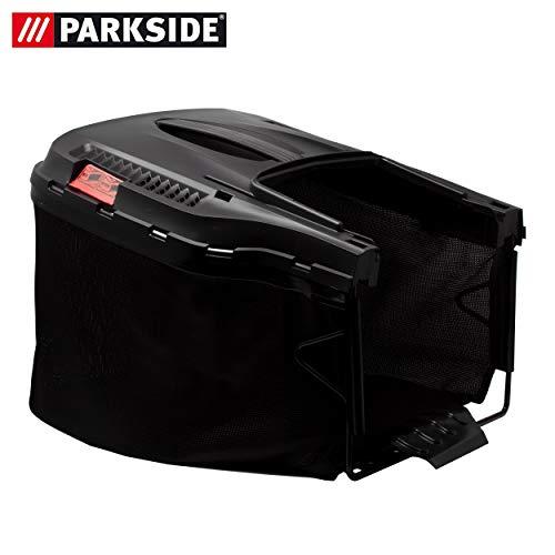 Cesta para césped con indicador de llenado y asa, apta para cortacésped Parkside PRM 1800 - LIDL IAN...