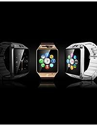 gv08s Wearables reloj inteligente, llamadas manos libres/control de medios/Control de Mensajes/Control de la cámara para android y iOS