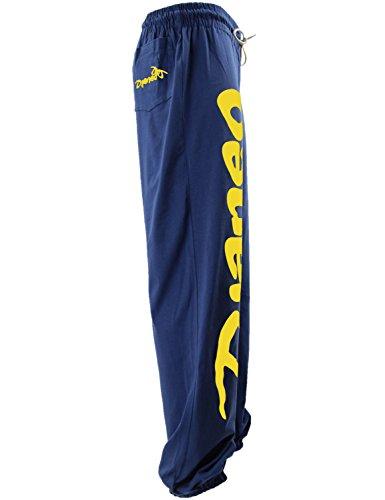 Jogginghose Herren und Damen Sporthose Djaneo Rio Baumwolle Hosen in 35  farben marineblau und gelb bd59a1b299