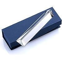 Sumnacon 15 CM Prisme Triangulaire en Verre, pour Enseignement de Physique , étudier la Lumière et Bon Outil de Photographie (15 cm)