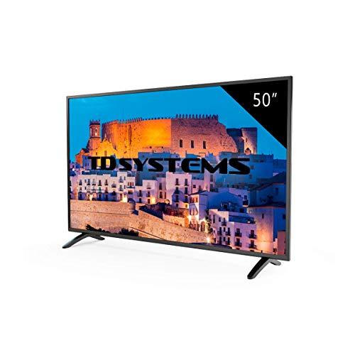 Televisor Led 50 Pulgadas Full HD, TD Systems K50DLM8F. Resolución 1920 x 1080,...