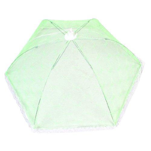 pizzo-bianco-con-finiture-in-verde-chiaro-con-rete-in-nylon-piatto-per-ombrello-pieghevole-per-alime