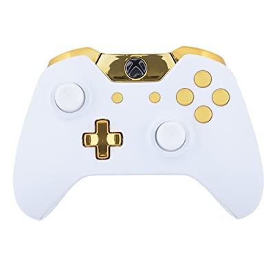 Xbox One Custom Controller - Matte White & Gold