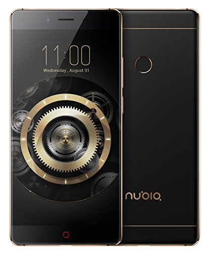 Nubia Z11 (Black-Gold, 6GB RAM + 64GB Memory)