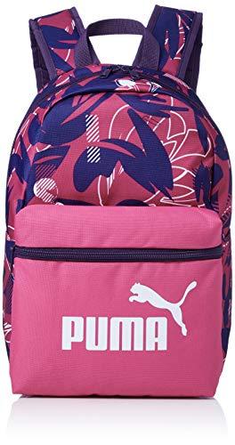 Puma Kinder Phase S Backpack Rucksack, Fuchsia Purple-AOP, OSFA (Kinder Puma Rucksack)