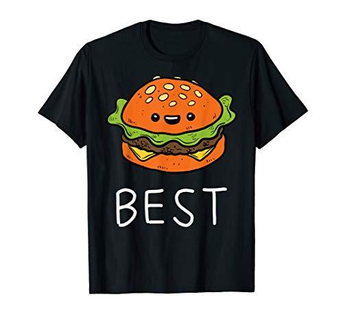 Burger Best Friends Geschwister Vater Sohn Partnerlook T-Shirt