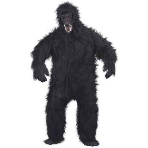 Halloween Herren Kostüm böser Gorilla als Affe zu Karneval Fasching