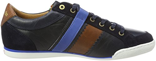 Pantofola d'Oro Herren Savio Romagna Uomo Low Sneaker Blau (Dress Blues)