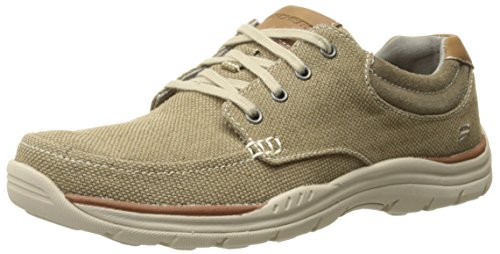 Skechers Herren Expected Orman Low-Top Gr眉n (KHK)