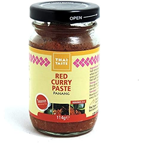 Thai Taste - Red Curry Paste - Panang - 114g