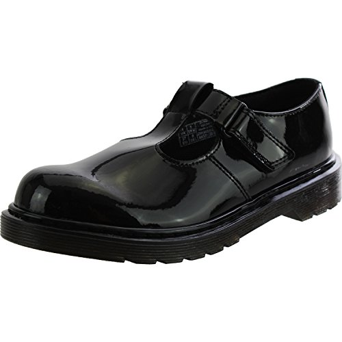 Dr Martens Goldie Y Black Patent Youth School Shoes