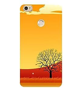 Animated Barren Tree 3D Hard Polycarbonate Designer Back Case Cover for Xiaomi Mi Max
