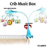 DearMentor Baby Nursery Mobiles Crib Toys Musical Cot Berceau Rotary Music Box Kid...