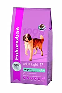 Eukanuba Adult Light Large Breed Dry Mix 15 kg from Proctor & Gamble