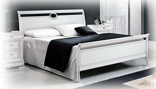 Bett 2 Schlafplätze lackiert