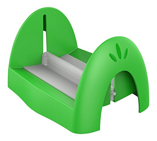 Biesse casa portatovaglioli di carta in polipropilene/polistirene, verde