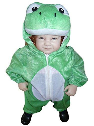 J01 Gr. 80-86 Froschkostüm, Frosch Faschingskostüme, Froschkarnevalskostüm, für Kinder, Jungen, Mädchen, für Fasching Karneval Fasnacht, auch als Geschenk zum Geburtstag oder Weihnachten