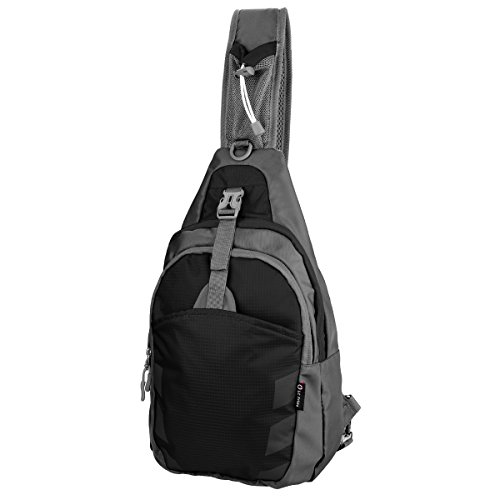 sling-bag-chest-shoulder-unbalance-gym-fanny-backpack-sack-satchel-outdoor-bike-nylon-fabric-black-b