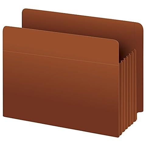 Pendaflex 95545 Heavy-Duty Drop Front End Tab File Pockets, Legal, 3-1/2