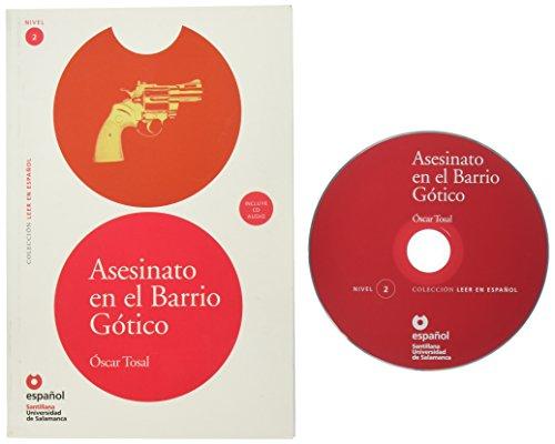 Asesinato en el Barrio Gotico [With CDROM] (Leer en Espanol: Nivel 2) (Leer En Español)