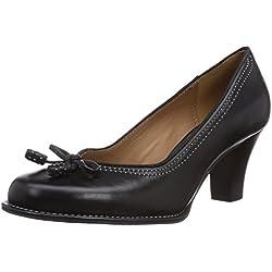Clarks Bombay Lights - Zapatos de tacón con lazo para mujer, color negro