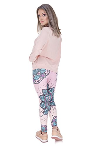 trvppy – Plus de 30 Différents modèles – Gym Workout Sports Wear Yoga Pantalon Legging de sport Fitness Fashion Print Hipster MANDALA FLOWER