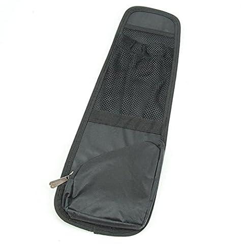 Gaddrt Siège de voiture côté rangement imperméable à l'eau organisateur intérieur sac à usages multiples accessoire nouveau (Noir)