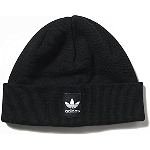 Berretto adidas – Rib Logo Beanie nero/bianco formato: OSFY (Un