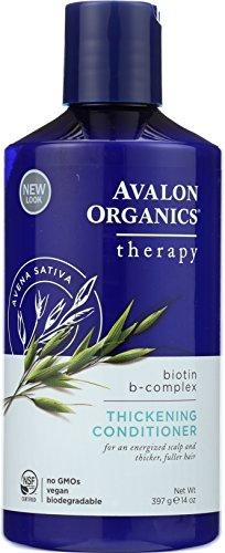 Avalon Organics Biotin B Complex Conditioner 397g (Bio Organics Shampoo Avalon)