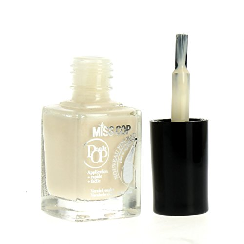 Miss Cop Vernis à Ongles Pops Nails Collection Hiver - Beige