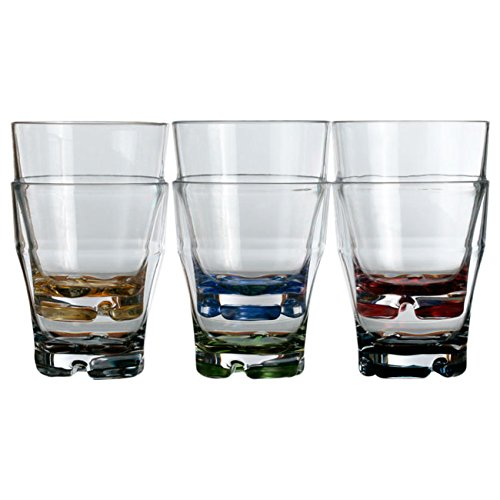 marine-business-party-vasos-de-agua-6-unidades-policarbonato-transparentes-con-base-de-colores