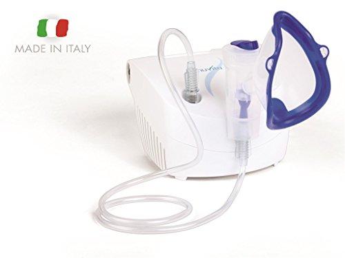 Inhalador Nebulizador Portátil Compacto Aerosol Pistón