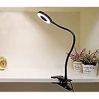W Lite Led Schreibtischlampe Klemmfuss 6w Leselampe Klemme
