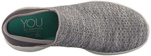 Skechers Damen You Slip On Sneaker Grau (Charcoal)
