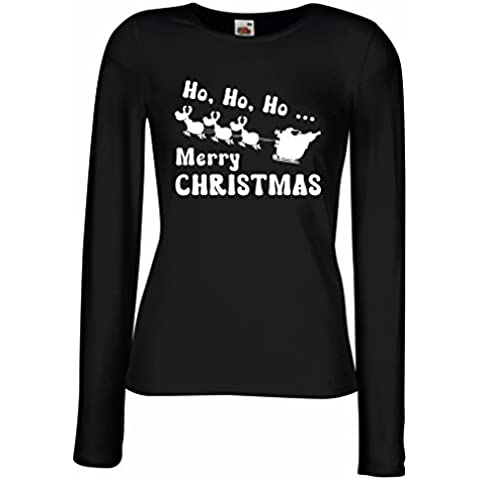 Camisetas de Manga Larga para Mujer regalos para Navidad ideas para regalar