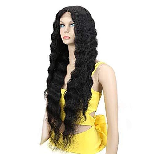 Perücke lange lockige Haare vorne Lace Perücke Set europäischen und amerikanischen Stil - Europäische Spitze Perücke