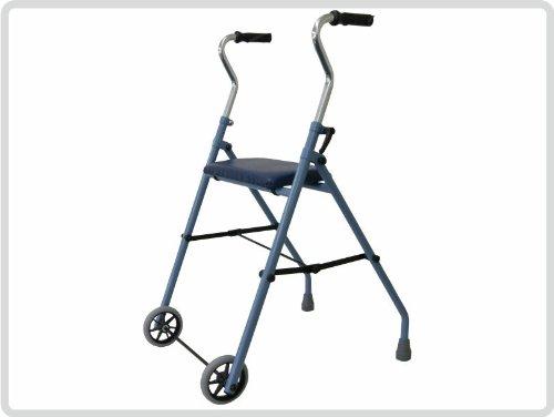 Rollator Gehilfe mit 2 Rädern, Rollator für zu Hause *Top-Qualität zum Top-Preis*