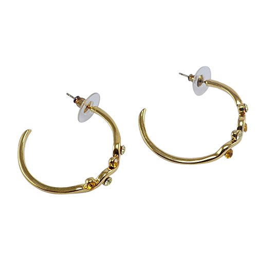 silvestoo-india-champagne-apple-gree-zircon-gold-plated-earring-for-women-pg-126548