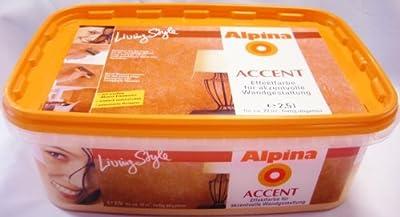 ALPINA Wandfarbe Accent Freetime, Koralle, Orange- Hell 2,5 L. Effekt, 5,996 Euro/Liter von Alpina bei TapetenShop
